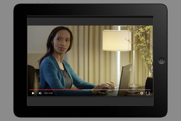 ipad sales tool video on ipad